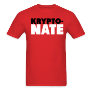 T-Shirts ~ Men's Standard Weight T-Shirt ~ Krypto NATE Bulls Shirt