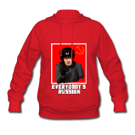 Hoodies ~ Women's Hooded Sweatshirt ~ Everbody's Russian!