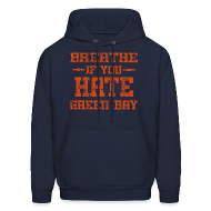 Hoodies ~ Men's Hooded Sweatshirt ~ Breathe If You