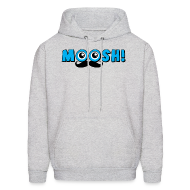 Hoodies ~ Men's Hooded Sweatshirt ~ MOOSH MEN's HOODIE