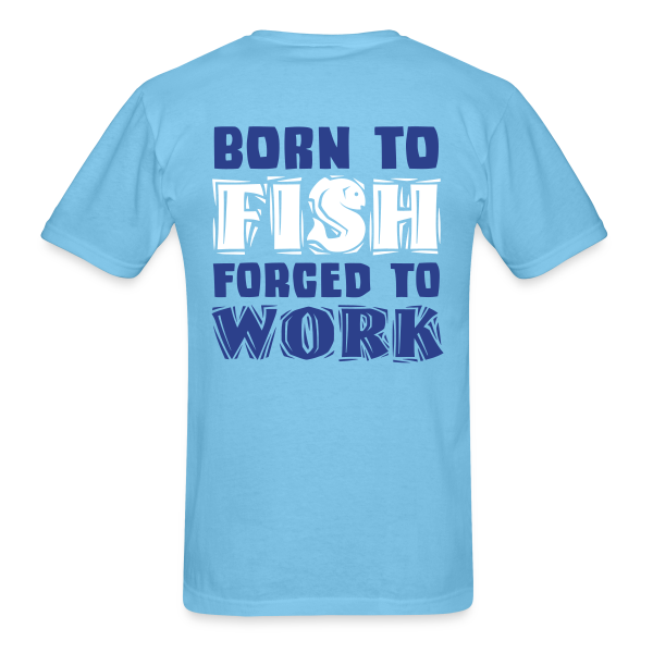 If you can read this Fish Somewhere Else - Adult Shirt