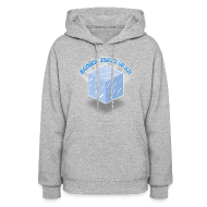 Hoodies ~ Women's Hooded Sweatshirt ~ Floating Block of Ice Women's Hoodie