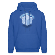 Hoodies ~ Men's Hooded Sweatshirt ~ Floating Block of Ice Men's Hoodie