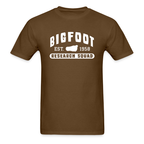 Bigfoot Research Squad Men's Shirt