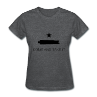 Women's T-Shirts ~ Women's Standard Weight T-Shirt ~ Come And Take It