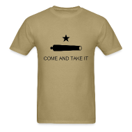 T-Shirts ~ Men's Standard Weight T-Shirt ~ Come And Take It