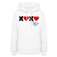 Hoodies ~ Women's Hooded Sweatshirt ~ x