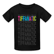 Kids' Shirts ~ Kids' T-Shirt ~ Tif-FAN-atic