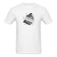 T-Shirts ~ Men's Standard Weight T-Shirt ~ Grand Piano