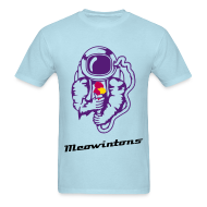 T-Shirts ~ Men's Standard Weight T-Shirt ~ Space Meowintons