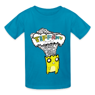 Kids' Shirts ~ Kids' T-Shirt ~ Tiffany Critter Head