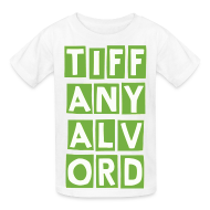 Kids' Shirts ~ Kids' T-Shirt ~ TIF-ANY-ALV-ORD LIME