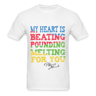 T-Shirts ~ Men's Standard Weight T-Shirt ~ Beating-Pounding-Melting