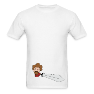 T-Shirts ~ Men's Standard Weight T-Shirt ~ Chibi Church - St. Paul