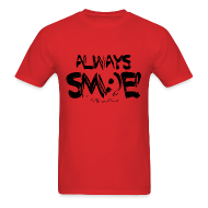 T-Shirts ~ Men's Standard Weight T-Shirt ~ Always Sm:)e