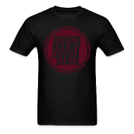 T-Shirts ~ Men's Standard Weight T-Shirt ~ Enemy of the State SPECIAL