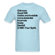 T-Shirts ~ Men's Standard Weight T-Shirt ~ & With Your Spirit