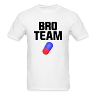 T-Shirts ~ Men's Standard Weight T-Shirt ~ Bro Team Logo Shirt