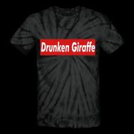 Shirts ~ Unisex Tie Dye T-Shirt ~ Supreme Giraffe (Women s T-Shirt