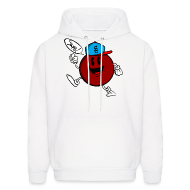 Hoodies ~ Men's Hooded Sweatshirt ~ Swag Ball Design #1 Hoodie