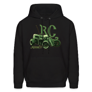 Hoodies ~ Men's Hooded Sweatshirt ~ Ghost Dragster