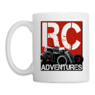 Bottles & Mugs ~ Coffee/Tea Mug ~ RC ADVENTURES - Dark Dragster Coffee Cup