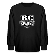 Kids' Shirts ~ Kids' Long Sleeve T-Shirt ~ Kids - Long Sleeve Shirt - RCSparks Shield