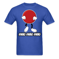 T-Shirts ~ Men's Standard Weight T-Shirt ~ Swag Ball Design #2