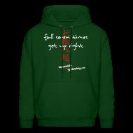 Hoodies ~ Men's Hooded Sweatshirt ~ Fall Seven Times