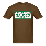 T-Shirts ~ Men's Standard Weight T-Shirt ~ Sauced - Mens