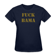 Women's T-Shirts ~ Women's Standard Weight T-Shirt ~ Women's Fuck Bama 2