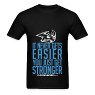 T-Shirts ~ Men's Standard Weight T-Shirt ~ Stronger| CutAndJacked | Mens Tee