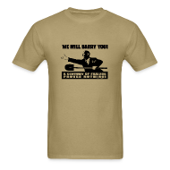 T-Shirts ~ Men's Standard Weight T-Shirt ~ We will Barry You! Obama with shovel