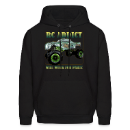 Hoodies ~ Men's Hooded Sweatshirt ~ The Green Bastard