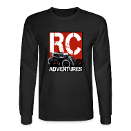 Long Sleeve Shirts ~ Men's Long Sleeve T-Shirt ~ RC Adventures - The Dark Dragster Long Sleeve