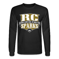 Long Sleeve Shirts ~ Men's Long Sleeve T-Shirt ~ RCSparks Shield Long Sleeve