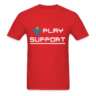 T-Shirts ~ Men's Standard Weight T-Shirt ~ I Play Support