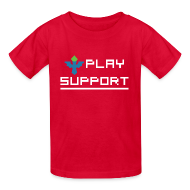Kids' Shirts ~ Kids' T-Shirt ~ I Play Support