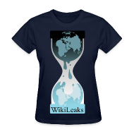 Women's T-Shirts ~ Women's Standard Weight T-Shirt ~ WikiLeaks Protest T-Shirt