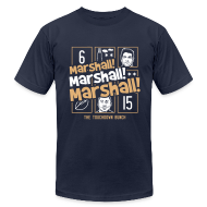 T-Shirts ~ Men's T-Shirt by American Apparel ~ MARSHALL MARSHALL MARSHALL (The TD Bunch)