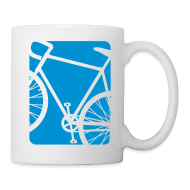 Bottles & Mugs ~ Coffee/Tea Mug ~ Bike Bicycling Biking Mug Blue