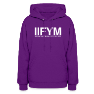 Hoodies ~ Women's Hooded Sweatshirt ~ Women's Hoodie - IIFYM - If it fits your macros, eat it!