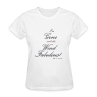 Women's T-Shirts ~ Women's Standard Weight T-Shirt ~ FABULOUS WHITE II