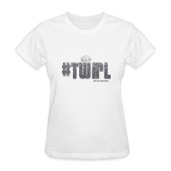 Women's T-Shirts ~ Women's Standard Weight T-Shirt ~ TWIRL WHITE SS