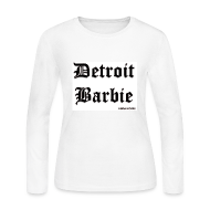 Long Sleeve Shirts ~ Women's Long Sleeve Jersey T-Shirt ~ WHITE