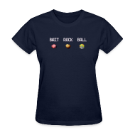Women's T-Shirts ~ Women's Standard Weight T-Shirt ~ Bait Rock Ball (Women's)