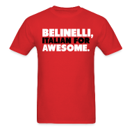 T-Shirts ~ Men's Standard Weight T-Shirt ~ Bulls Belinelli Shirt