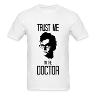 T-Shirts ~ Men's Standard Weight T-Shirt ~ Trust Me I'm the Doctor