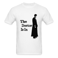 T-Shirts ~ Men's Standard Weight T-Shirt ~ The Doctor Is In