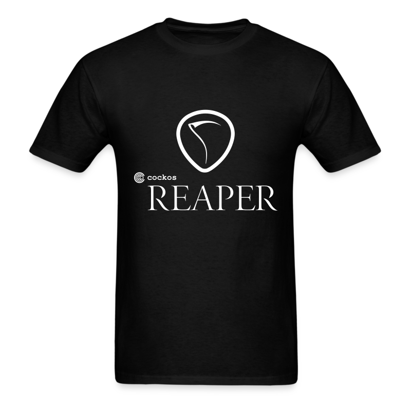 REAPER Classic Tee with White Print - Men's T-Shirt